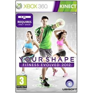 【新品★送料無料メール便】Xbox360ソフト ユアシェイプ フィットネス・エボルブ 2012