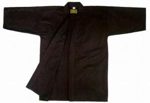剣道衣 まっくろ剣(綿100%) 0号 剣道着/防具/竹刀/小手なら武道園