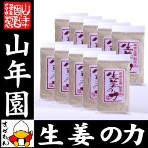 しょうが 粉末 国産 生姜の力 55g×10袋セット 黄金生姜100%の生姜粉末 しょうが 粉末 生姜力 ギフト 贈り物 ダイエット ぽかぽか お土産