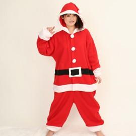 ハロウィン 衣装 着ぐるみ 大人用 フリース 仮装 コスプレ コスチューム サンタクロース ハロウィン 衣装 コスプレクリスマス