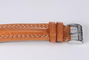 エベラール  腕時計 トラベルセトロ ビトレ ブラック/キャメルレザー 21020.2VZ