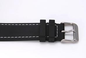 ハミルトン 腕時計 Khaki E.T.O ブラック/ブラックラバー H77612333