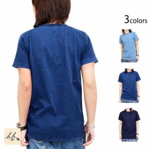 インディゴ半袖Tシャツ HB エイチビー シンプル 廃盤