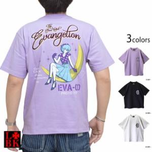 EVA×LBK 綾波Rockabilly半袖Tシャツ ロウブロウナックル 551360 エヴァンゲリオン 綾波レイ コラボ