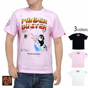 パンダーバスター半袖Tシャツ PANDIESTA JAPAN 529053 パンディエスタ パンダ ミリタリー メンズ