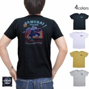 弁慶リペンコットン吊編半袖Tシャツ サムライジーンズ SJST21-108 SAMURAI JEANS 和柄 和風 日本製[mij_m][mij]