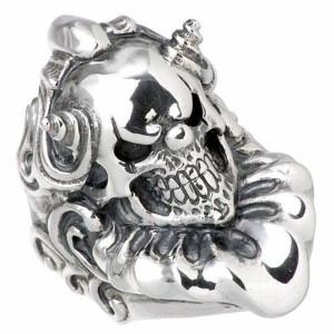 FAL エフエーエル リング 指輪 メンズ シルバー スウィル sv 髑髏ドクロ骸骨 FA-R-0055