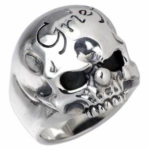 FAL エフエーエル リング 指輪 メンズ シルバー グリーフフォードロップアウト sv 髑髏・ドクロ・骸 FA-R-0061