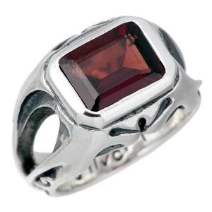 リング 指輪 メンズ レディース FREE STYLE フリースタイル シルバー スクエアストーン FSR-554