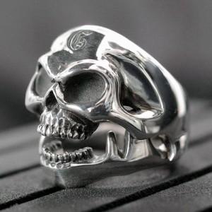 Guillaume ギローム リング 指輪 メンズ シルバー スカル-JAW 髑髏・ドクロ・骸骨 Gu-R-004