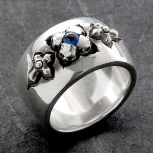 リング 指輪 メンズ Guillaume ギローム シルバー ホーリーローズ 送料無料 Gu-R-009