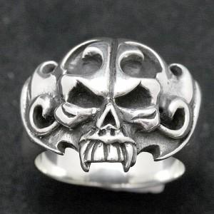 Guillaume ギローム リング 指輪 メンズ シルバー デビル 送料無料 Gu-R-015