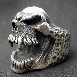 リング 指輪 メンズ DICKY & GRANDMASTER シルバー リトルピックノーズスカル 髑髏ドクロ骸骨 ディッキー&グランドマスター LP NR-01