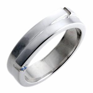 リング 指輪 レディース メンズ waCca ワッカ シルバー ブルーダイヤモンド PCWR031BD