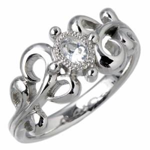 リング 指輪 レディース メンズ waCca ワッカ シルバー ヨーロピアン ロジウム PNKR023RH