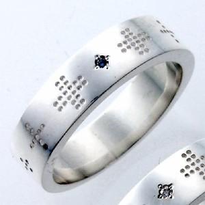 tip チップ リング 指輪 レディース メンズ シルバー ブルーダイヤモンド TPRW016BD