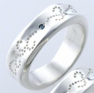 リング 指輪 レディース メンズ tip チップ シルバー ブルーダイヤモンド TPRW018BD