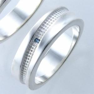 リング 指輪 レディース メンズ tip チップ シルバー ブルーダイヤモンド TPRW020BD