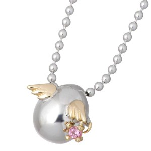 天使の卵 ネックレス レディース シルバー バースデー 選べる 誕生石 tenshi-114 送料無料