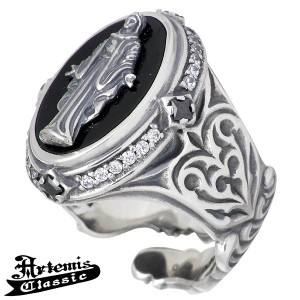Artemis Classic アルテミスクラシック シルバー リング 指輪 メンズ 黒衣聖母 13〜23号 ACR0220