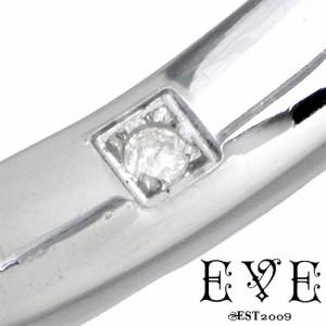 EVE イヴ ステンレス リング 指輪 金属アレルギー対応 メンズ アラベスクダイヤモンド 15〜21号 DIAGRSD23JA