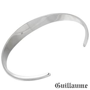 ブレスレット メンズ Guillaume ギローム シルバー スカル バングル 髑髏・ドクロ・骸骨 Gu-BA-001S