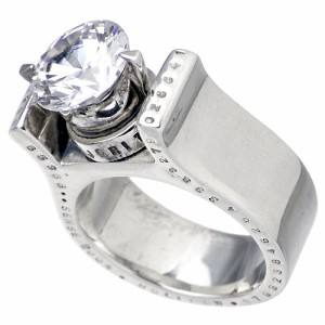KEN BLOOD ケンブラッド シルバー リング 指輪 メンズ レディース キング KB- KHR-11