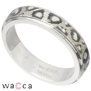 リング 指輪 レディース メンズ waCca ワッカ シルバー パンサー柄 sv PNKR1-SV