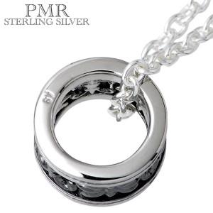 ネックレス メンズ レディース PMR ピーエムアール シルバー 2カラーベビー ブラック RM-PMP363-BK
