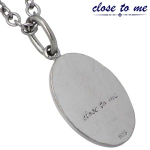 close to me クロストゥーミー ネックレス メンズ シルバー ダイヤモンド SN13-157 刻印可能