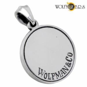 WOLFMAN B.R.S ウルフマン シルバー ペンダントトップ メンズ レディース ウォーウルフコイン  WO-P-96