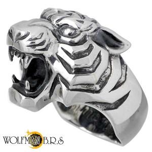 WOLFMAN B.R.S ウルフマン シルバー リング 指輪 メンズ タイガーマン WO-R-44