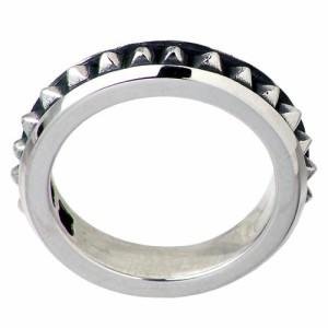 DEAL DESIGN ディールデザイン シルバー リング 指輪 メンズ レディース マイクロスタッズ 6〜20号 390450SV