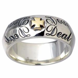 DEAL DESIGN ディールデザイン シルバー リング 指輪 メンズ レディース ラジアル 391205