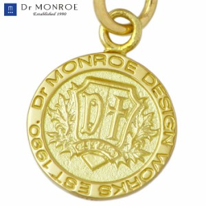 Dr MONROE ドクターモンロー ゴールド ペンダントトップ メンズ レディース K18 コイン ゴールド FC-271-K18-TOP