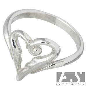 リング 指輪 レディース FREE STYLE フリースタイル シルバー エンジェルハート FSR-653