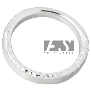 FREE STYLE フリースタイル リング 指輪 レディース シルバー アラベスク 7〜15号 FSR-889W