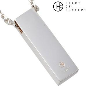 HEART OF CONCEPT ハートオブコンセプト ネックレス レディース シルバー ストーン キュービックピンクチェーン付き HCP-283L