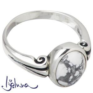 Ijeluna アイジェルナ リング 指輪 レディース シルバー ヴァイオラ8X10mmマグネサイト 7〜17号ストーン IJ-043RS-MAGNE