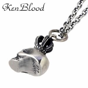 KEN BLOOD ケンブラッド シルバー ネックレス メンズ レディース クラウンスカル KB-KP-250