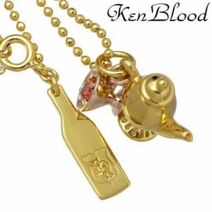 KEN BLOOD ケンブラッド シルバー ネックレス レディース メンズ ティーセット キュービックジルコニア KB-SP-16