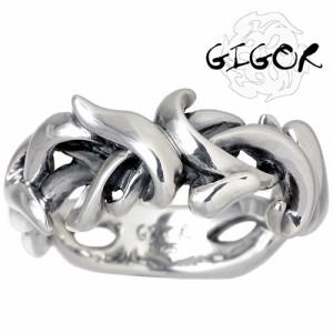 GIGOR ジゴロウ シルバー リング 指輪 メンズ レディース タングラムシリーズ NO-206