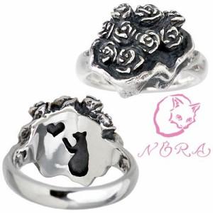 NORA ノラ リング 指輪 レディース シルバー 薔薇のブーケの NR-R-0006