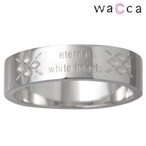 waCca ワッカ リング 指輪 レディース メンズ シルバー ハート PNKR003SV