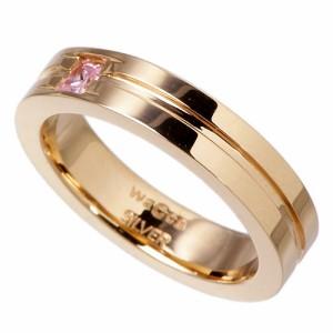 リング 指輪 レディース メンズ waCca ワッカ シルバー カラードデュオ PNKR032