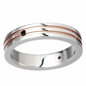 waCca ワッカ リング 指輪 レディース メンズ シルバー 2色ダイヤモンド PNKR44