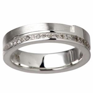 リング 指輪 レディース メンズ waCca ワッカ シルバー キュービックジルコニア PZR9