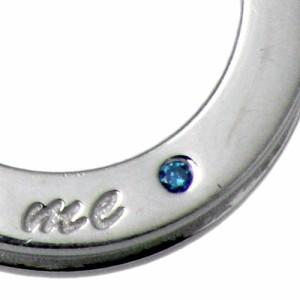 ネックレス メンズ close to me クロストゥーミー シルバー ブルーダイヤモンド SN13-027 送料無料 刻印可能