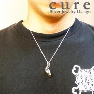 cure キュア ペンダントトップ メンズ レディース シルバー オーバーリプル CU-PE-032