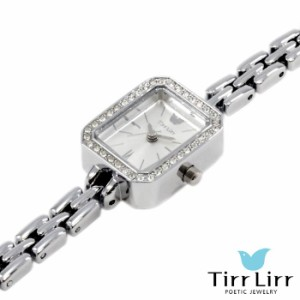 TirrLirr ティルリル 腕時計 ジュエリー ウォッチ レディース キュービック メタル シルバー ブランド TWC-102RH
